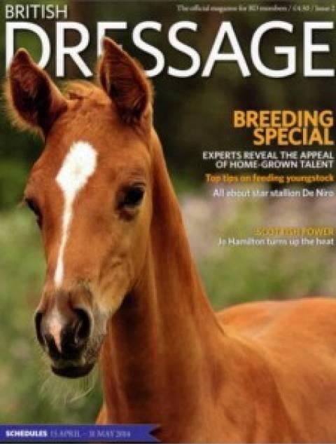 British Dressage - Breeding special 2014