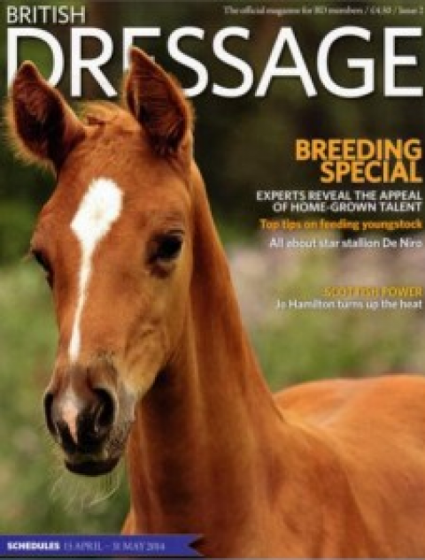 British Dressage - Breeding special 2014