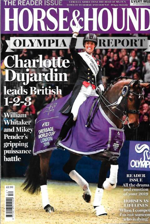 Horse & Hound December 2019 Dujardin reclaims her crown